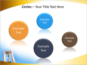 Golden Trophy PowerPoint Template - Slide 57