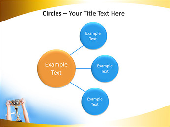 Golden Trophy PowerPoint Template - Slide 59