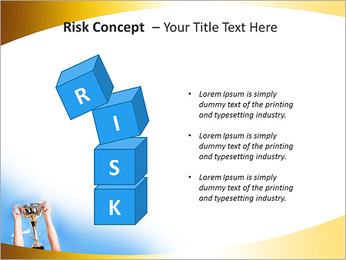 Golden Trophy PowerPoint Template - Slide 61