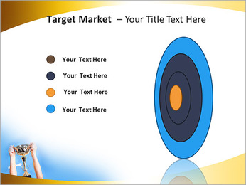 Golden Trophy PowerPoint Template - Slide 64