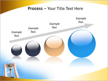 Golden Trophy PowerPoint Template - Slide 67