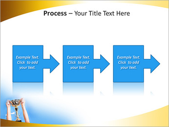 Golden Trophy PowerPoint Template - Slide 68