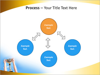 Golden Trophy PowerPoint Template - Slide 71