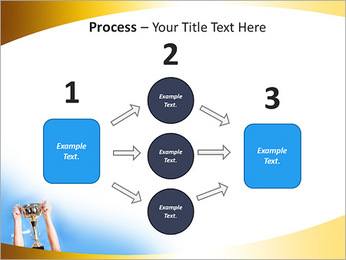 Golden Trophy PowerPoint Template - Slide 72