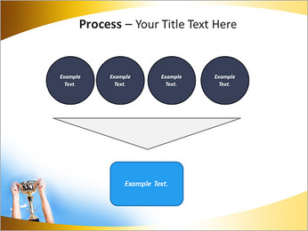 Golden Trophy PowerPoint Template - Slide 73