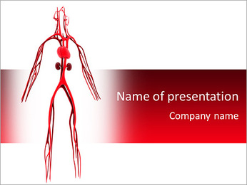 Artery PowerPoint Template - Slide 1