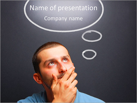 Interesting Thought PowerPoint Templates