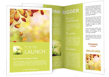 Autumn Beauty Brochure Template