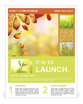 Autumn Beauty Flyer Template