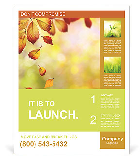Autumn Beauty Poster Template
