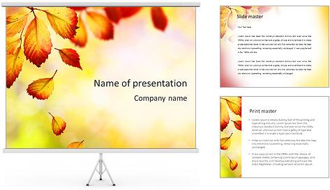 Autumn Beauty PowerPoint Template