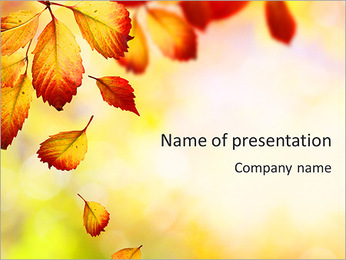 Autumn Beauty PowerPoint Template