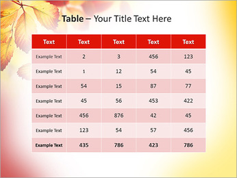 Autumn Beauty PowerPoint Template - Slide 35