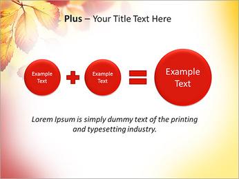 Autumn Beauty PowerPoint Template - Slide 55