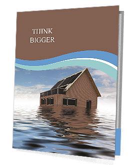 House In Water Presentation Folder
