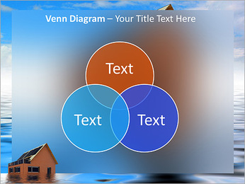 House In Water PowerPoint Template - Slide 13