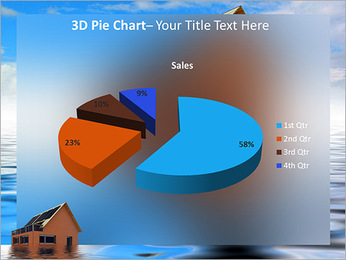 House In Water PowerPoint Template - Slide 15