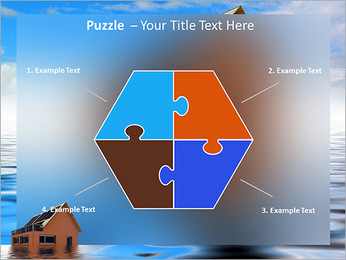 House In Water PowerPoint Template - Slide 20