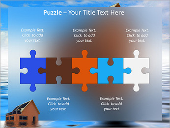 House In Water PowerPoint Template - Slide 21