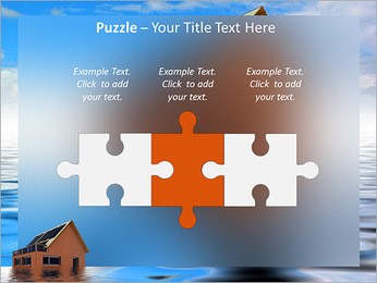 House In Water PowerPoint Template - Slide 22