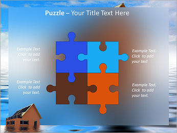 House In Water PowerPoint Template - Slide 23