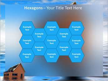 House In Water PowerPoint Template - Slide 24