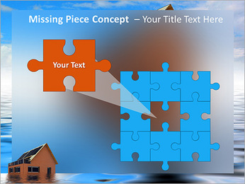 House In Water PowerPoint Template - Slide 25