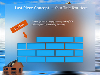 House In Water PowerPoint Template - Slide 26
