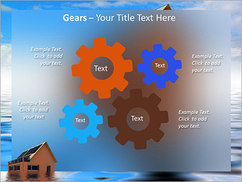 House In Water PowerPoint Template - Slide 27