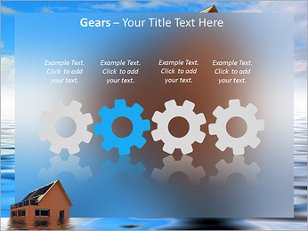 House In Water PowerPoint Template - Slide 28