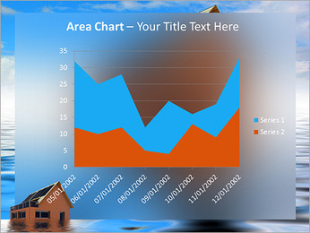House In Water PowerPoint Template - Slide 33