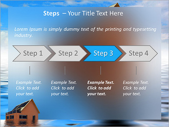 House In Water PowerPoint Template - Slide 4
