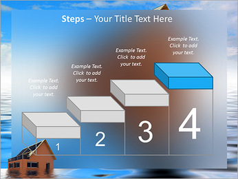House In Water PowerPoint Template - Slide 44