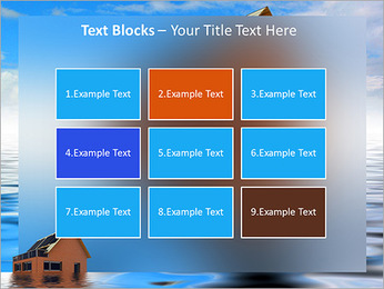 House In Water PowerPoint Template - Slide 48