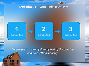 House In Water PowerPoint Template - Slide 51