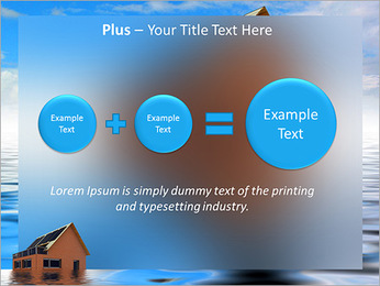 House In Water PowerPoint Template - Slide 55