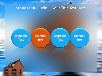House In Water PowerPoint Template - Slide 56