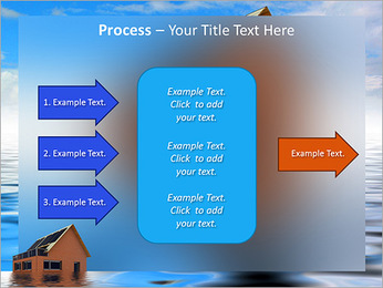 House In Water PowerPoint Template - Slide 65