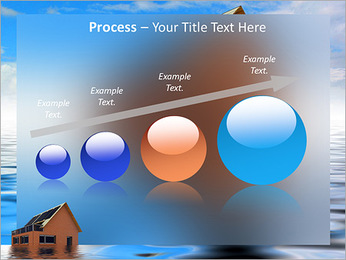 House In Water PowerPoint Template - Slide 67