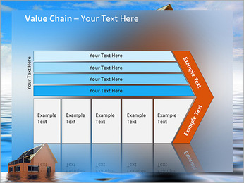 House In Water PowerPoint Template - Slide 7