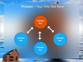House In Water PowerPoint Template - Slide 71