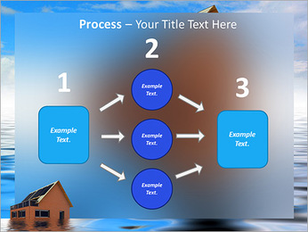 House In Water PowerPoint Template - Slide 72