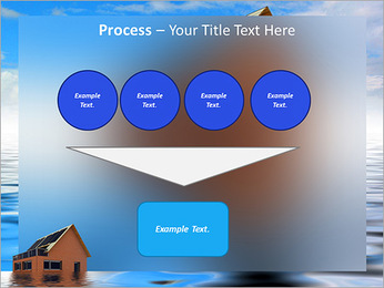House In Water PowerPoint Template - Slide 73