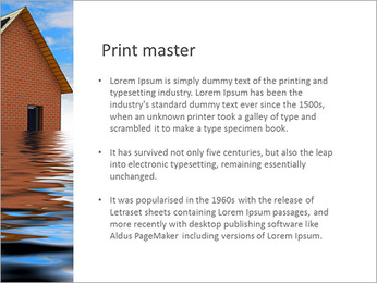 House In Water PowerPoint Template - Slide 76