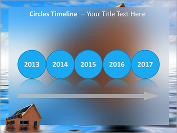 House In Water PowerPoint Template - Slide 9
