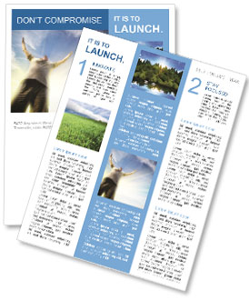 Sky Newsletter Templates