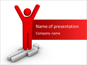 Competition Win PowerPoint Template - Slide 1