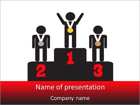 Winner Place PowerPoint Templates
