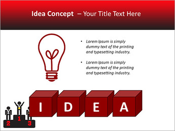 Winner Place PowerPoint Template - Slide 60