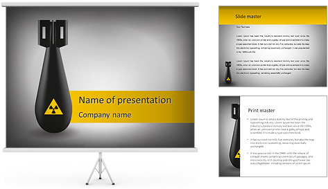 Whiz Bang PowerPoint Template